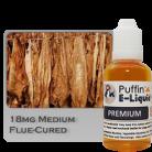 Flue-Cured Tobacco 18mg - Medium - 30ml
