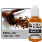 French Pipe 12mg - Low - 10ml