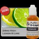 Lemon & Lime 24mg - High - 10ml