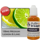 Lemon & Lime 18mg - Medium - 30ml