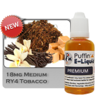 RY4 Tobacco 18mg - Medium - 10ml